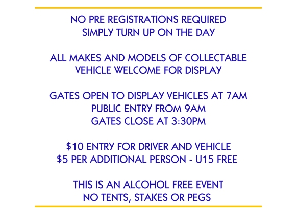 pre registrations